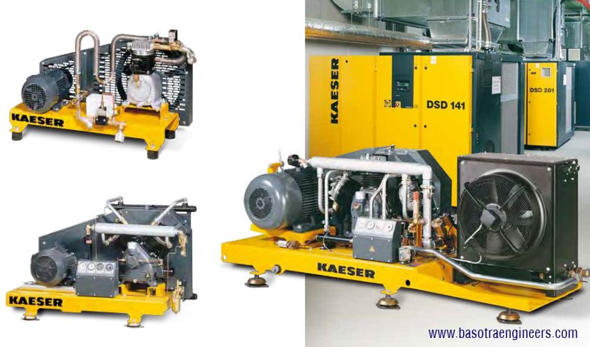 kaeser Compressed Air System with Booster N Series distributors suppliers in ludhiana punjab india